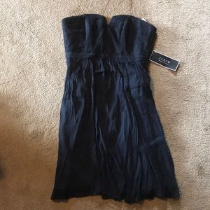J. Crew Wedding and Parties Navy Blue Dress